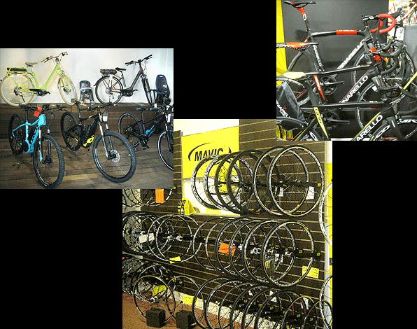 boutique et show-room spécialiste vélo de course à Chartres de Bretagne